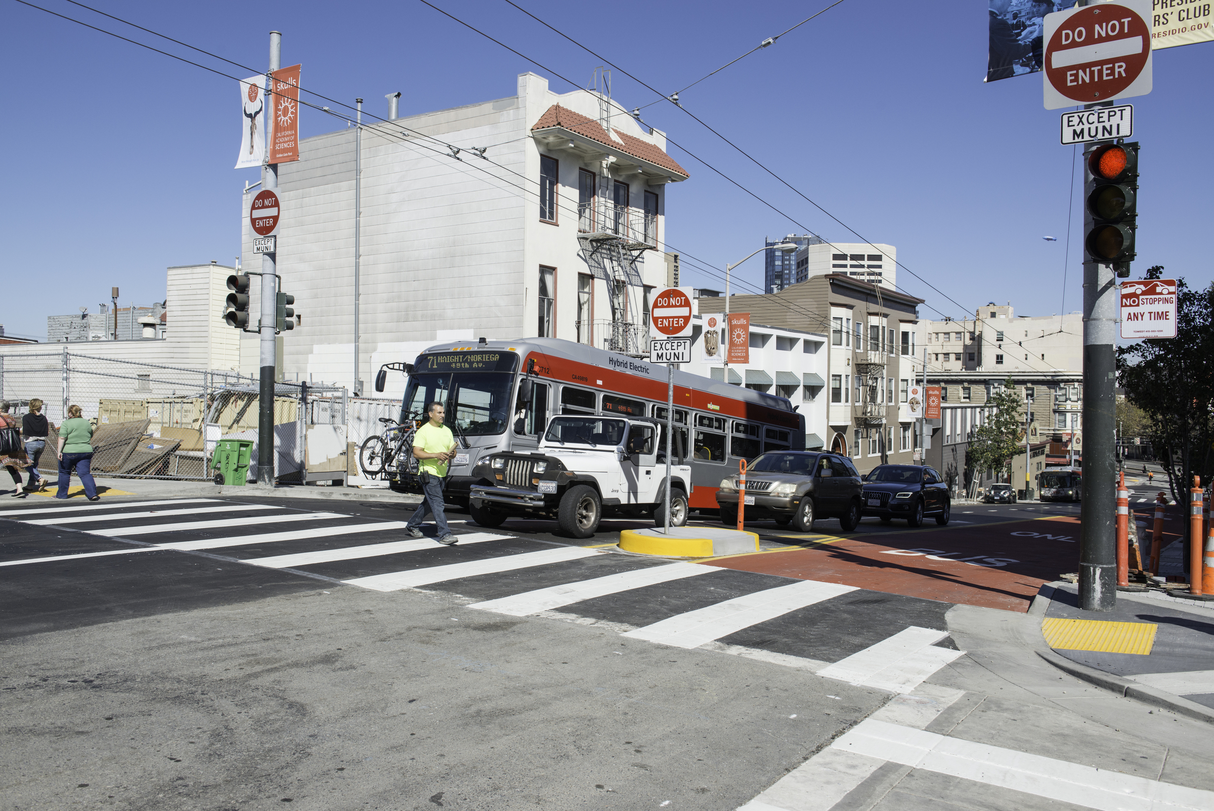 Muni reliability improvements on Haight Street