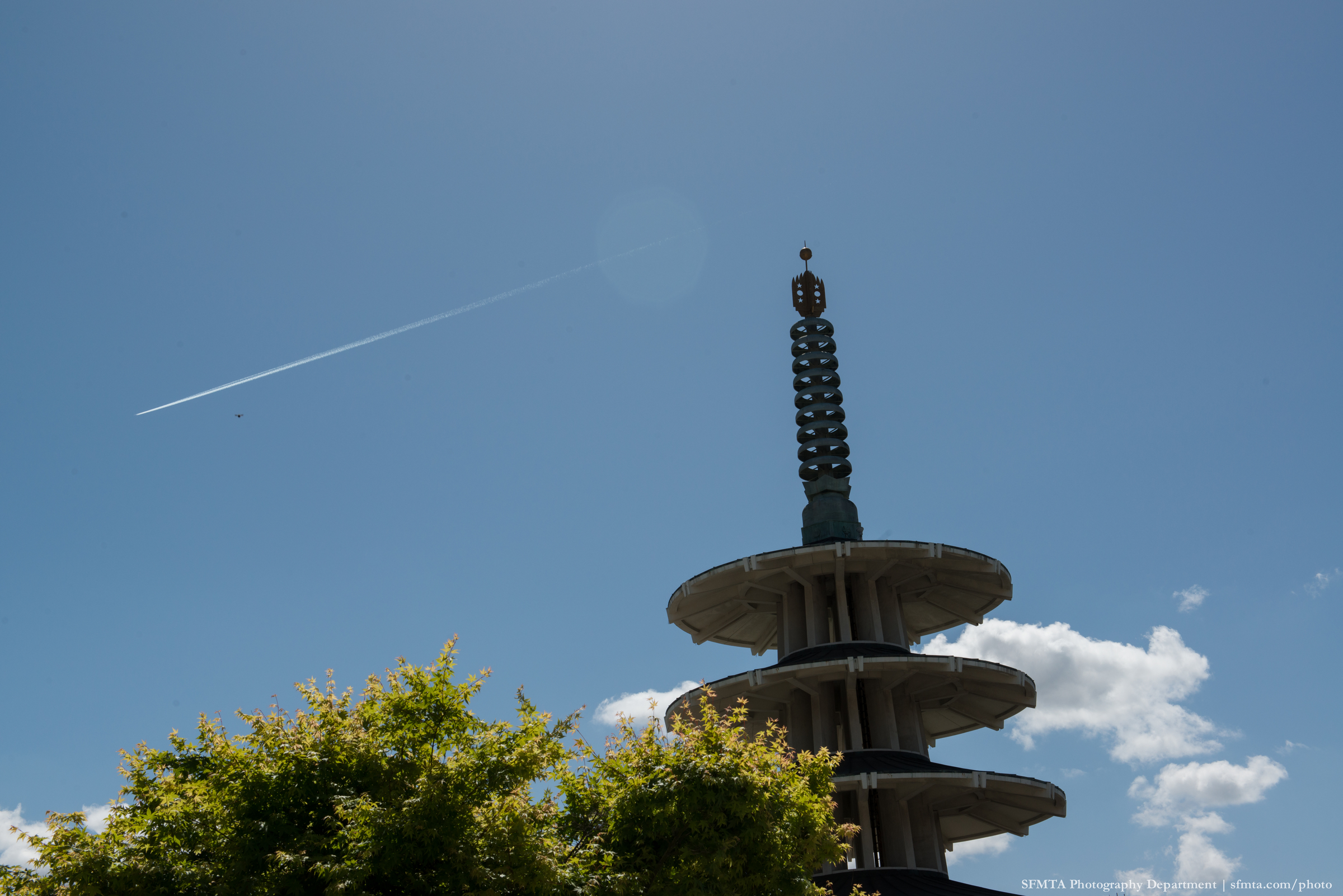Peace Pagoda in Japantown