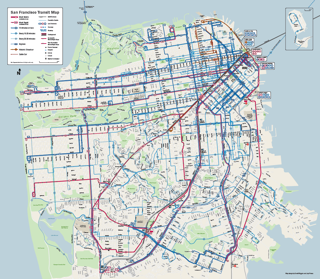 Muni Forward Brings You More Service Muni Rapid New Map  SFMTA
