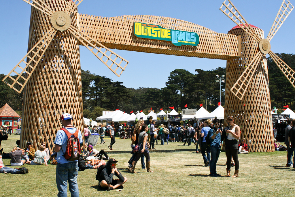 Windmill entrance to Outside Lands