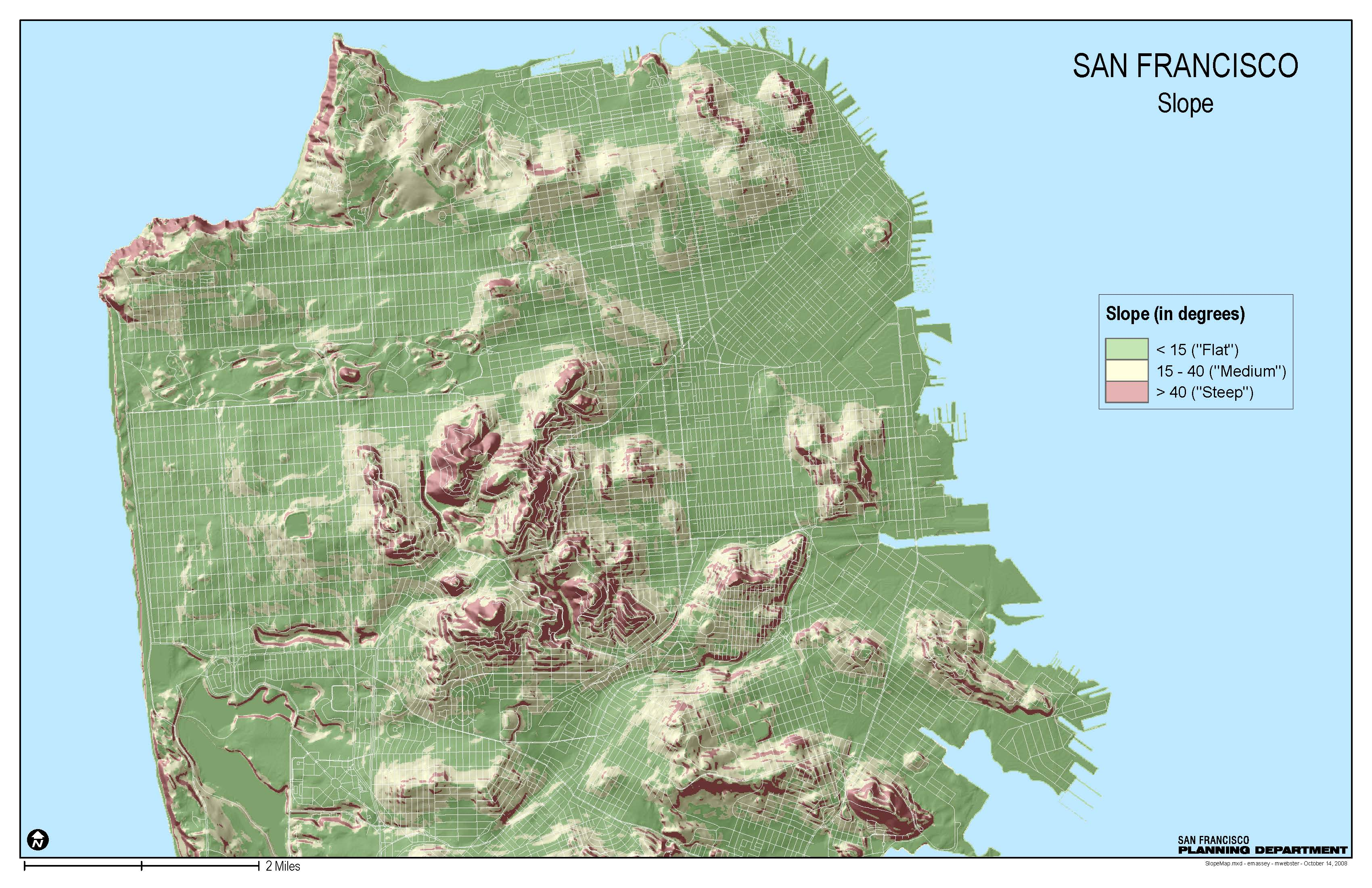 Bigger Bike Racks On Hilly Muni Routes SFMTA - San francisco bike map