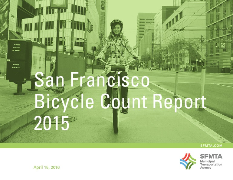 San Francisco's 2015 Annual Bike Count Report