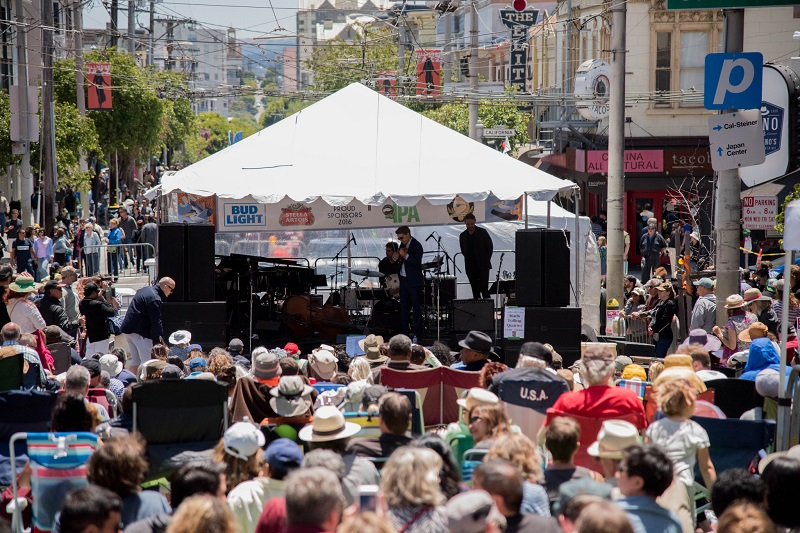 Crowd at the 2016 Fillmore Jazz Fest