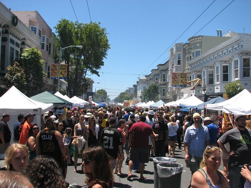 Haight-Ashbury Street Fair 2010