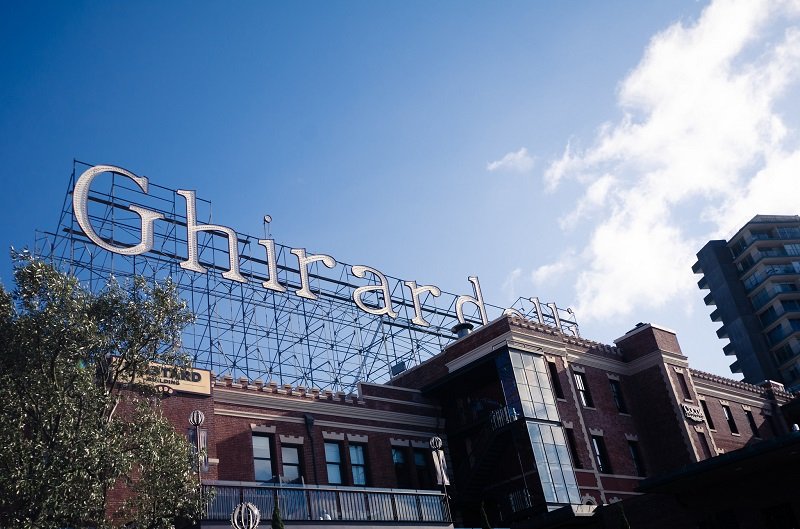 Ghirardelli Square Sign