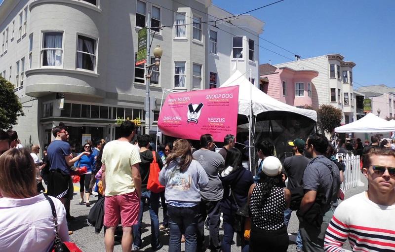 Union Street Festival goers.