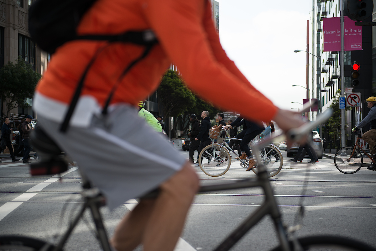 Bike to Work Day on Market Street