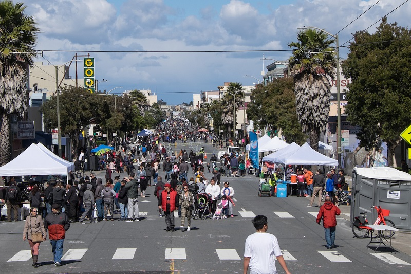 Sunday Streets Excelsior 2018