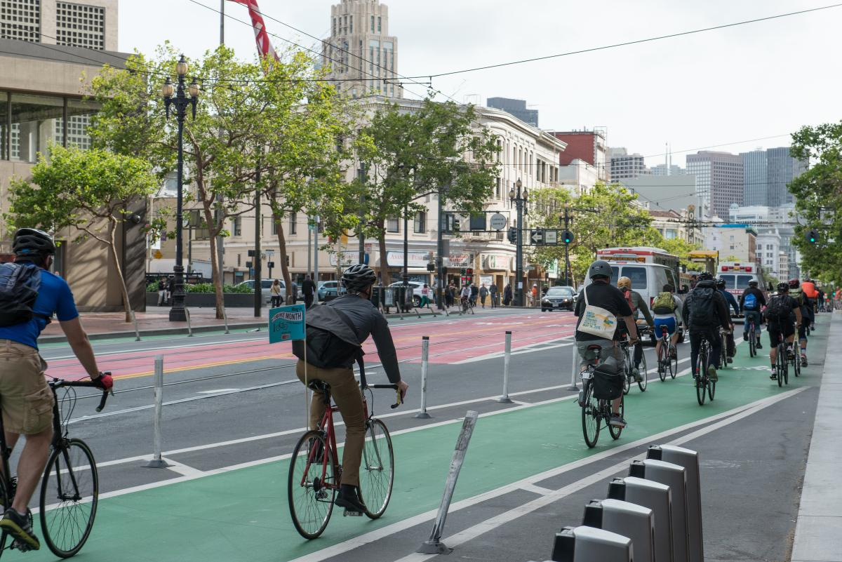 Sfmta creates pilot to study electric stationless bike for Furniture zone sidewalk