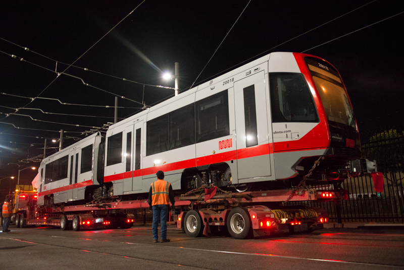 new muni light rail car