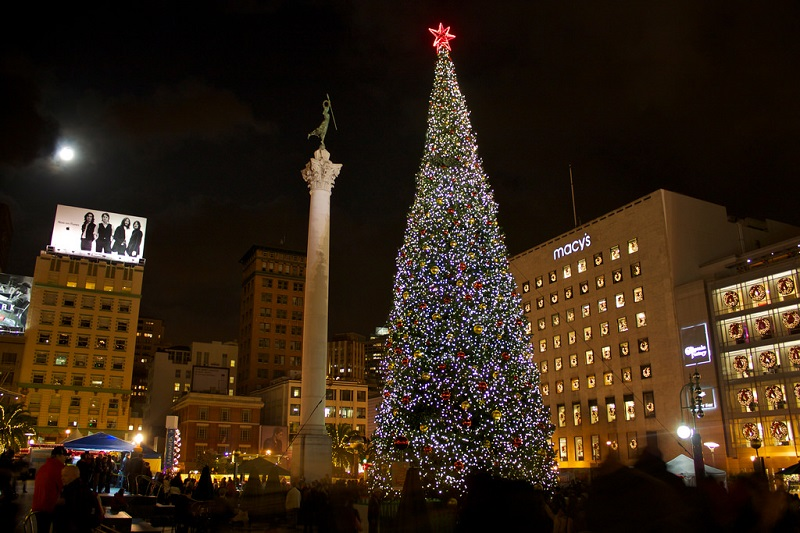 Union Square Xmas Tree