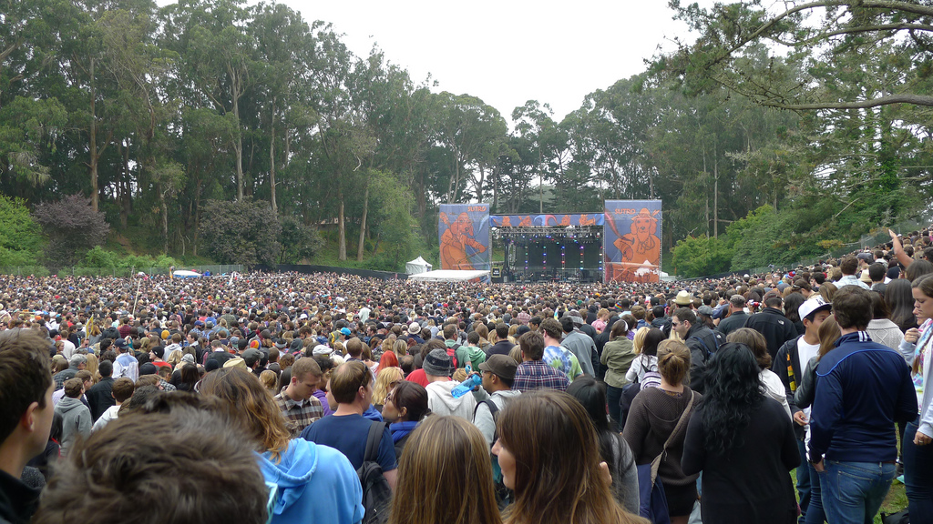 Outside Lands Crowd 2011