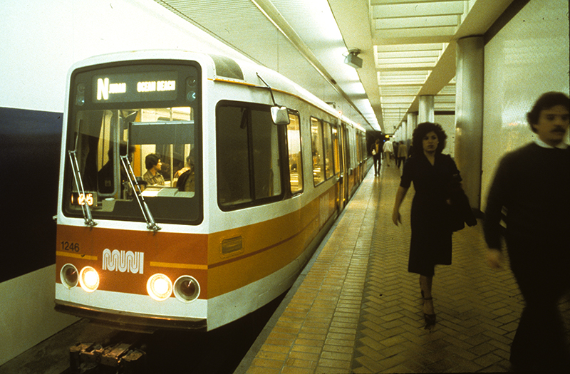 boeing lrv in subway