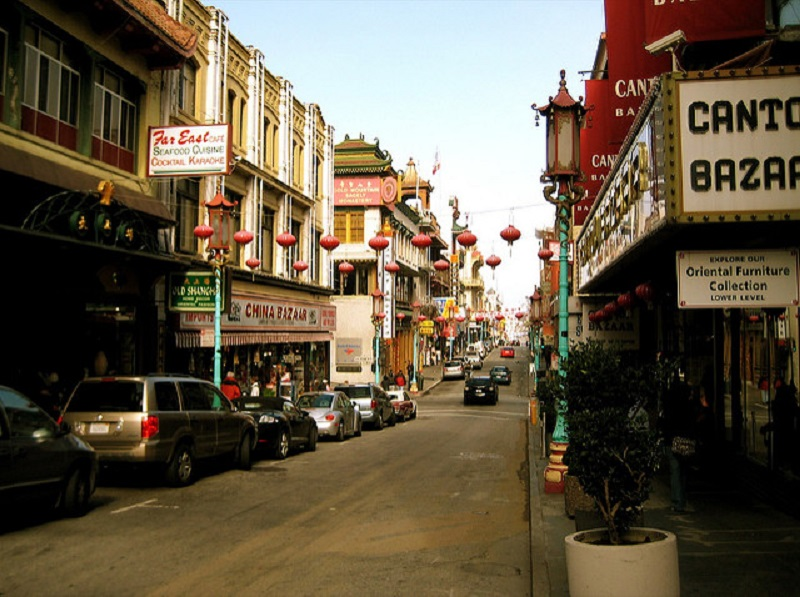 A View of Chinatown