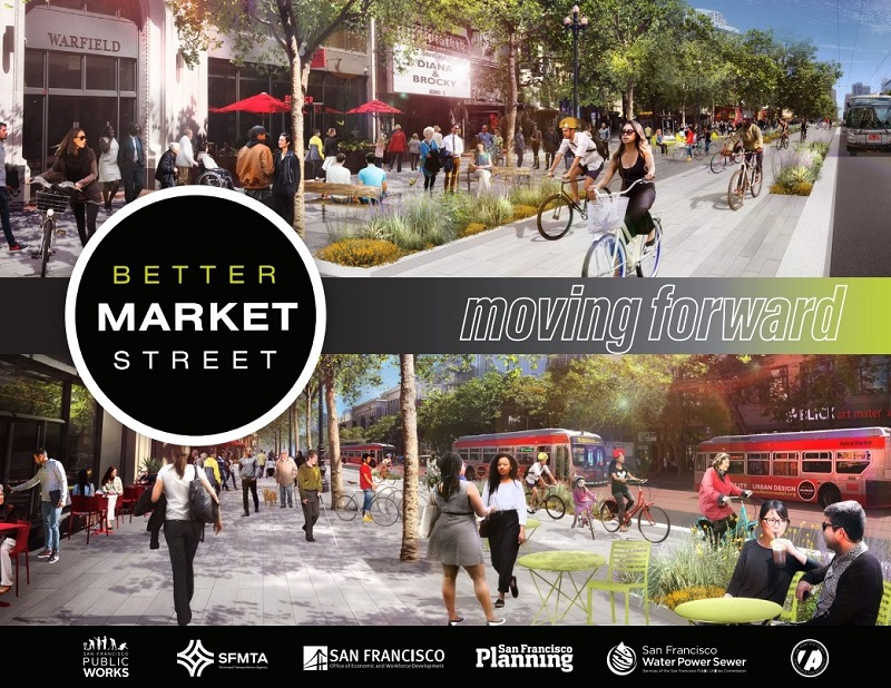 Better Market Street, moving forward.