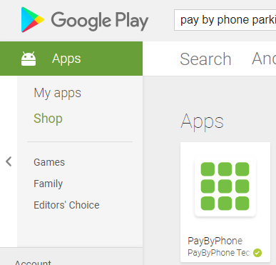 How to Pay by App