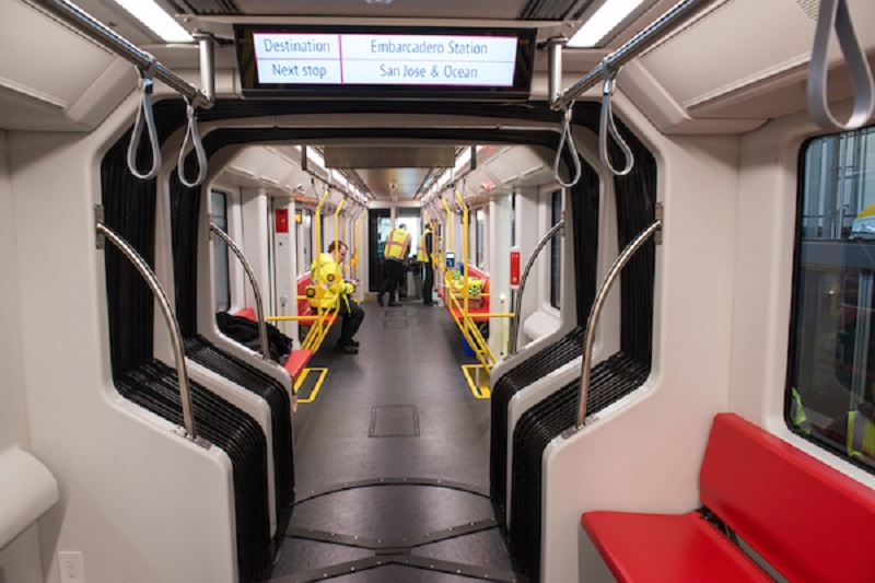 The inside of a new LRV4.