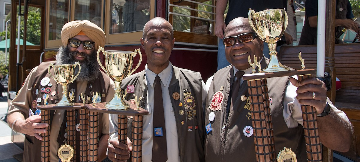 Cable Car Bell Ringing winners