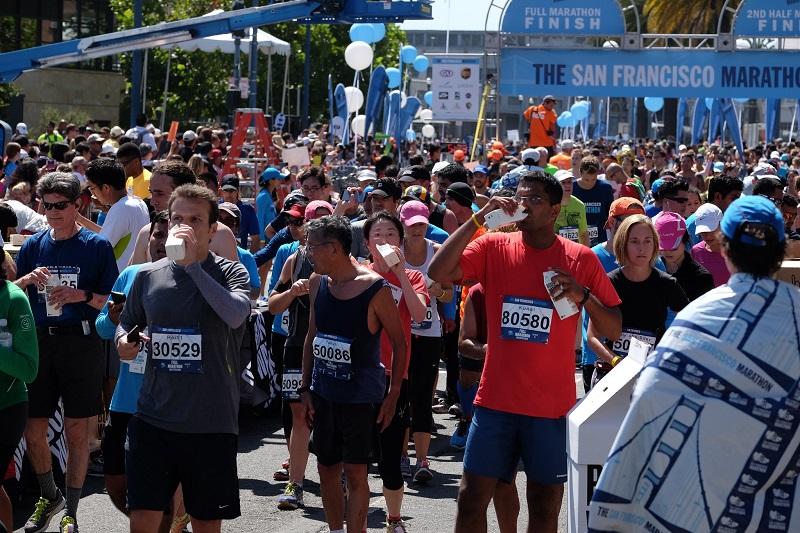 SF Marathon Runners 2014