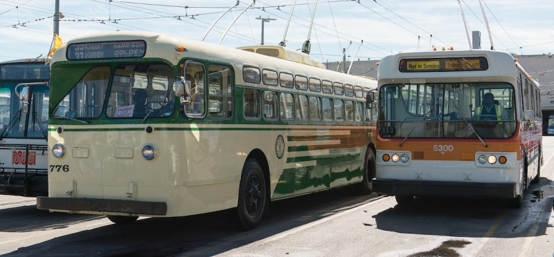 Trolley coaches