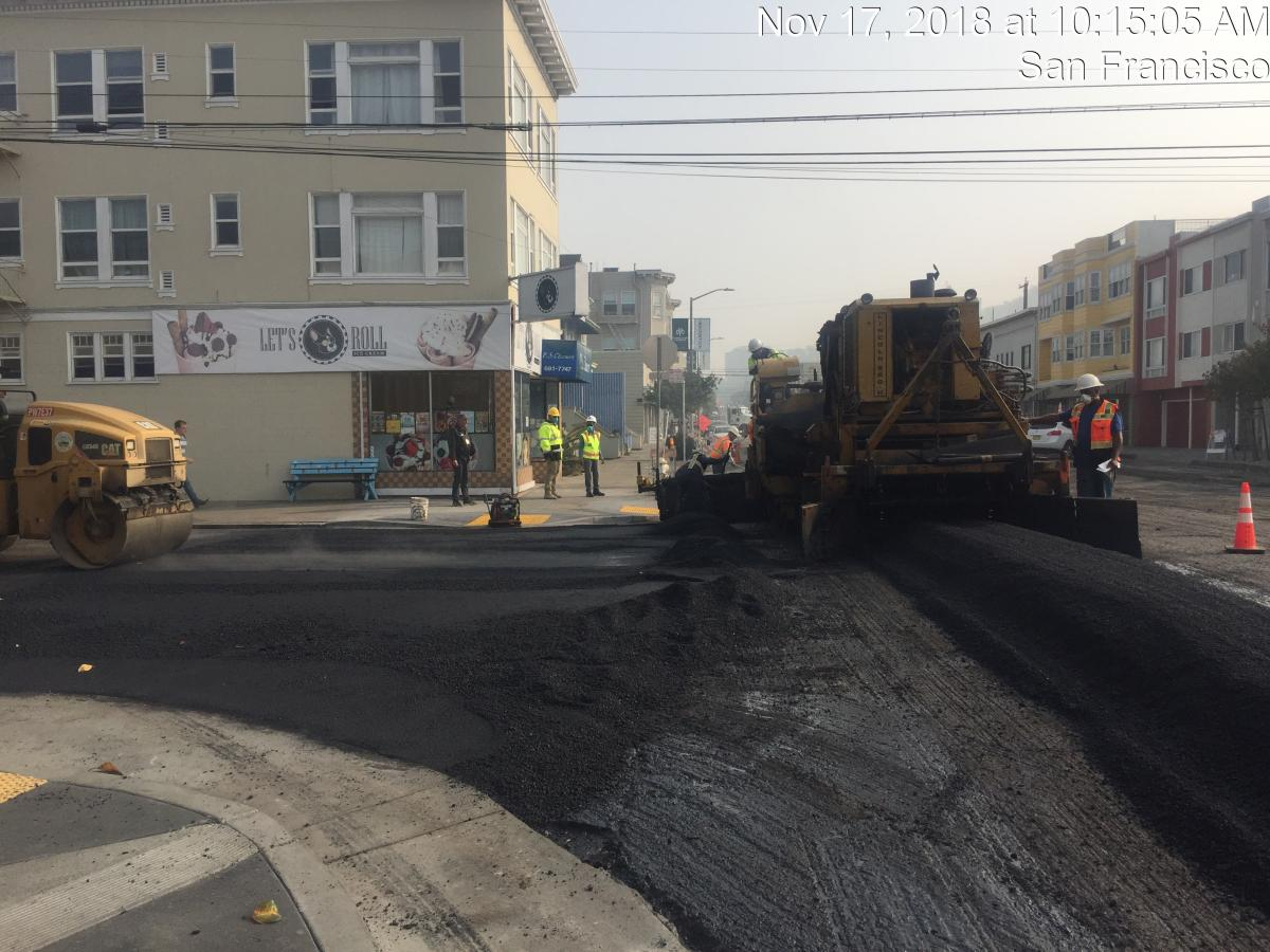 Inner Sunset Paving