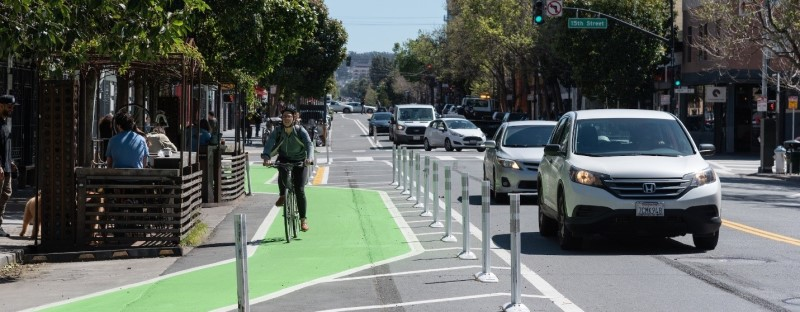 Valencia Street bike lane