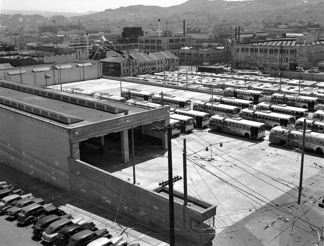 Potrero Yard Historic Photo