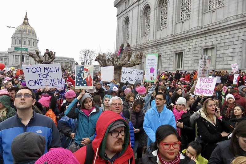Women's March 2017 City Hall