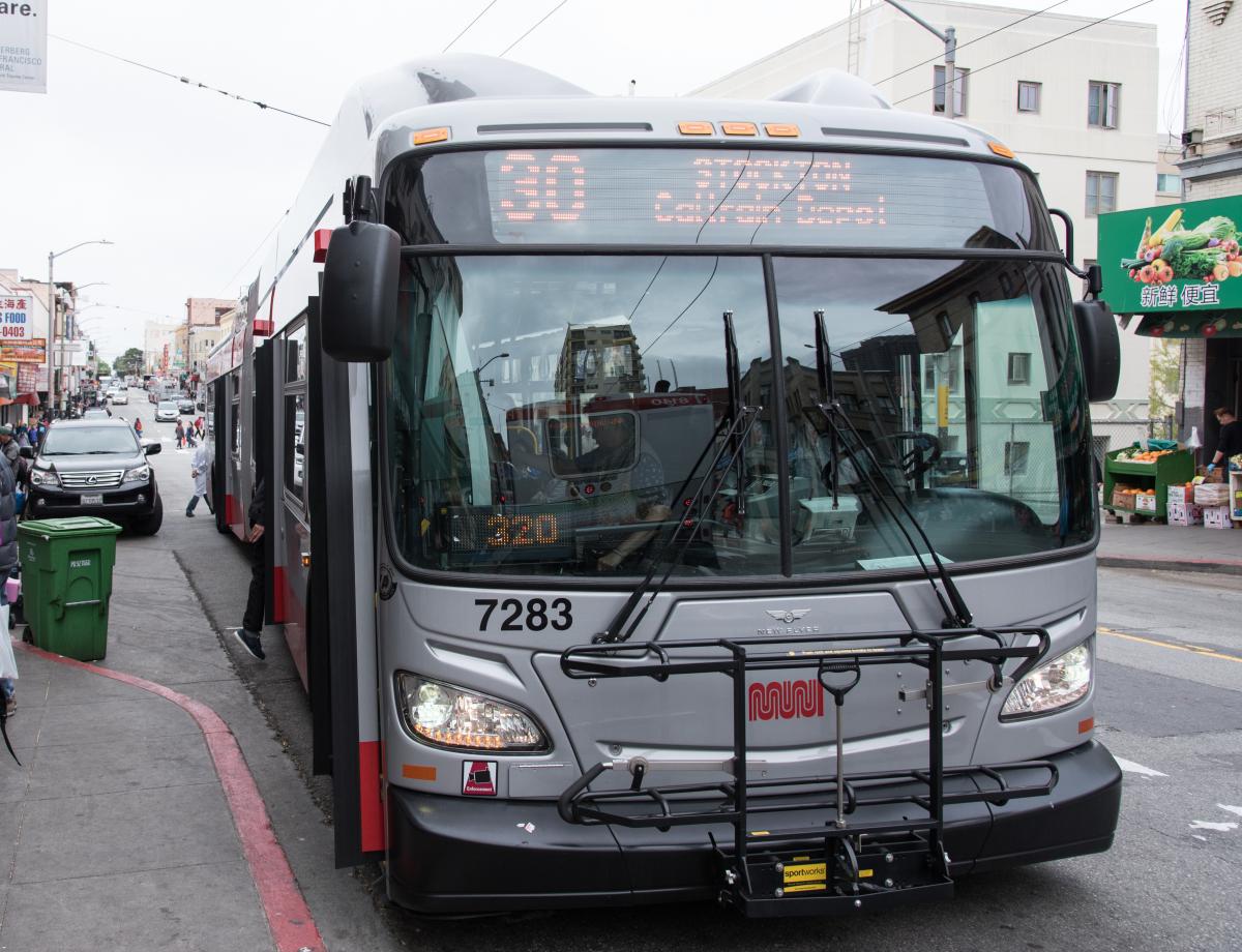 Photo of the 30 Stockton bus