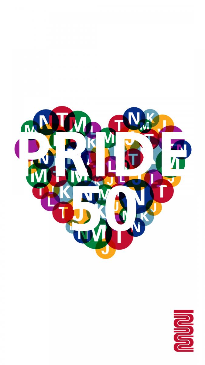 Image of Line Pride phone wall papaer