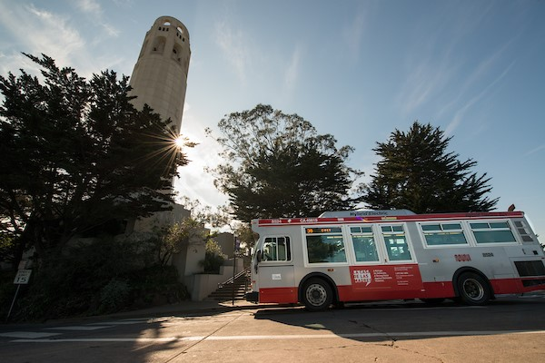Destination San Francisco: Muni Gets You to All the Sights