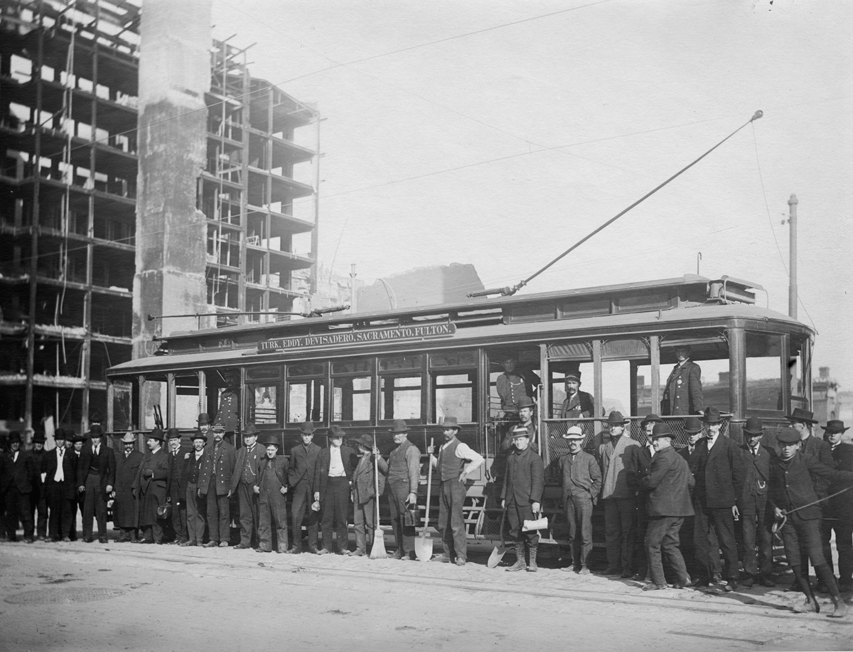 The 115-Year History of Streetcars on Market Street