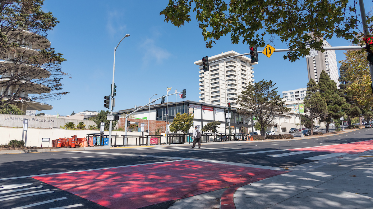 Long-awaited crosswalk on Geary helps rebuild community connections