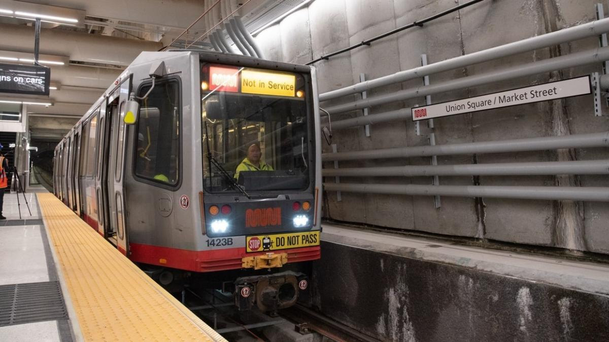 Central Subway Testing Anticipates 2022 Start of Service