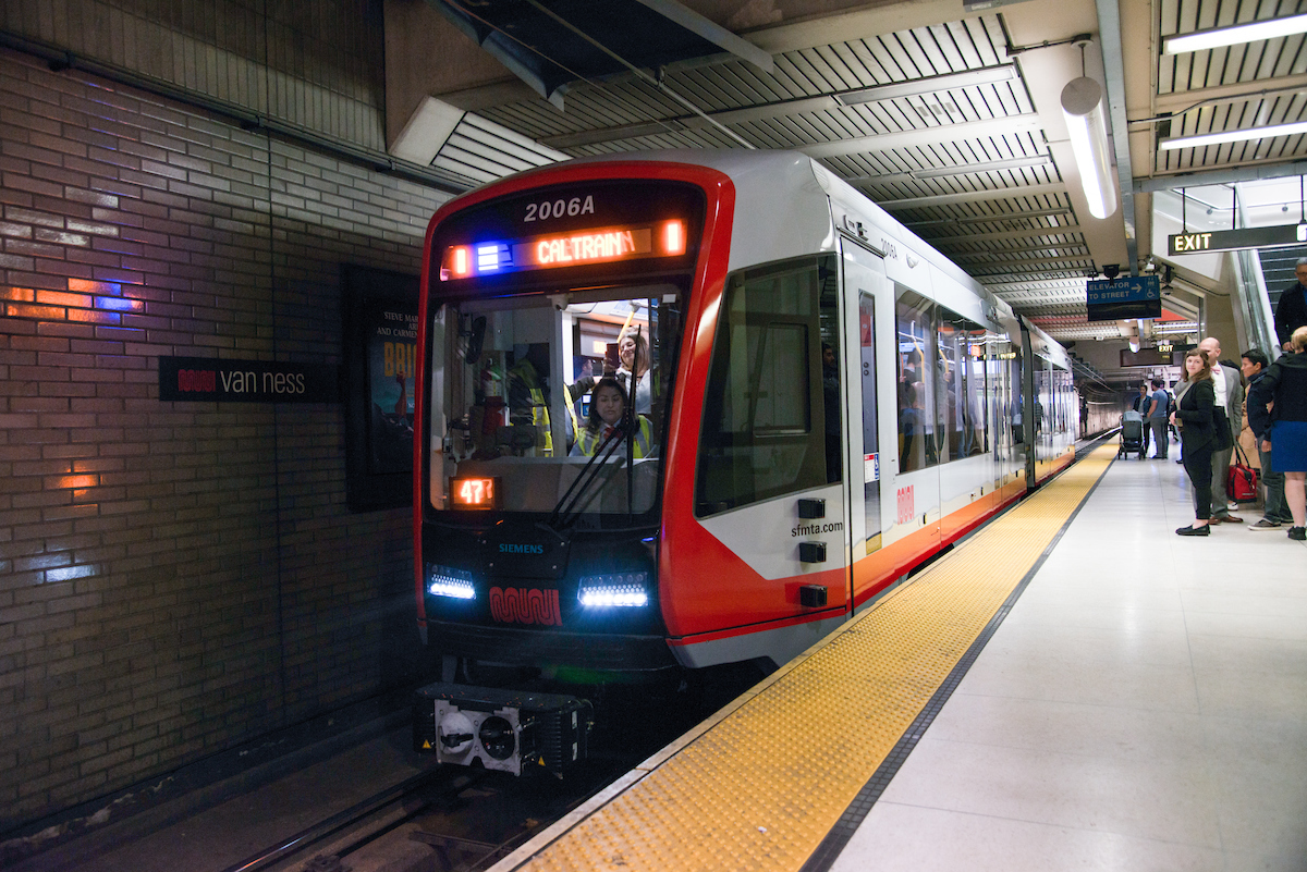 LRV 4 in the Subway