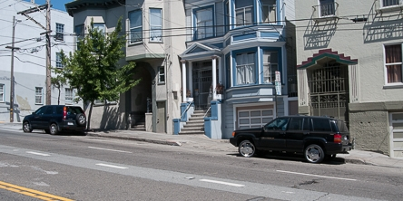 Street Parking on Duboce Avenue | May 21, 2013