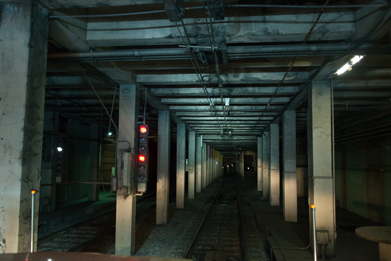 Abandoned Eureka Valley Station in Twin Peaks Tunnel | September 19, 2015