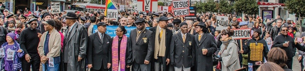 MLK day march