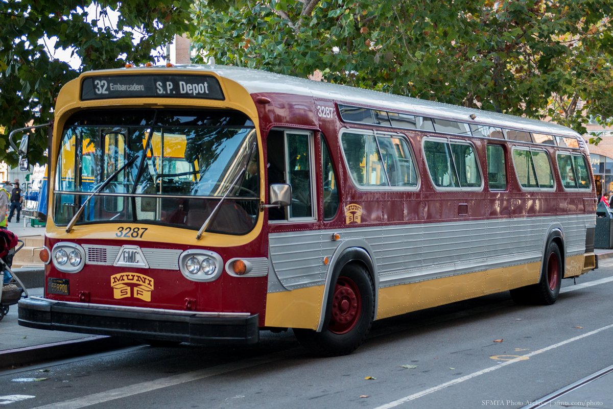 gold and maroon 1969 vintage bus sits on steuart st with sycamore trees overhead pin by annie teoh on chinese new year pinterest - Chinese New Year 1969