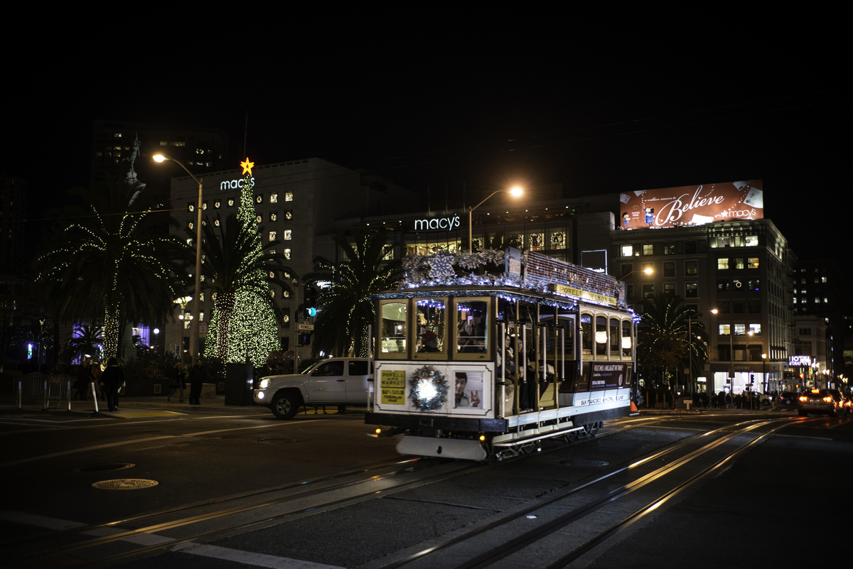 Skate Into The Holiday Spirit At Union Square Ice Rink Sfmta