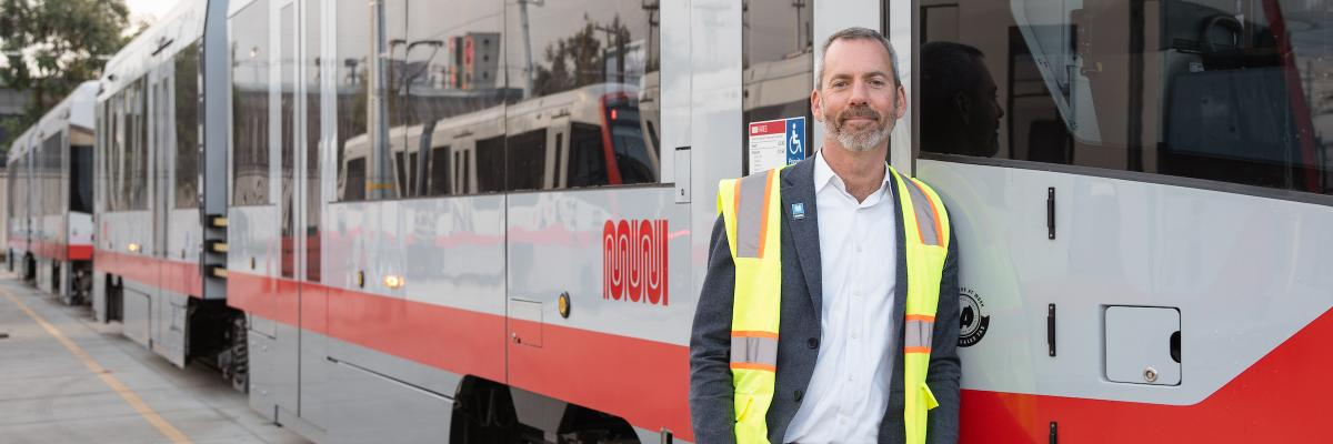 Image of new Director of Transportation Jeff Tumlin