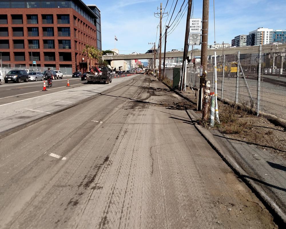 After asphalt has been removed