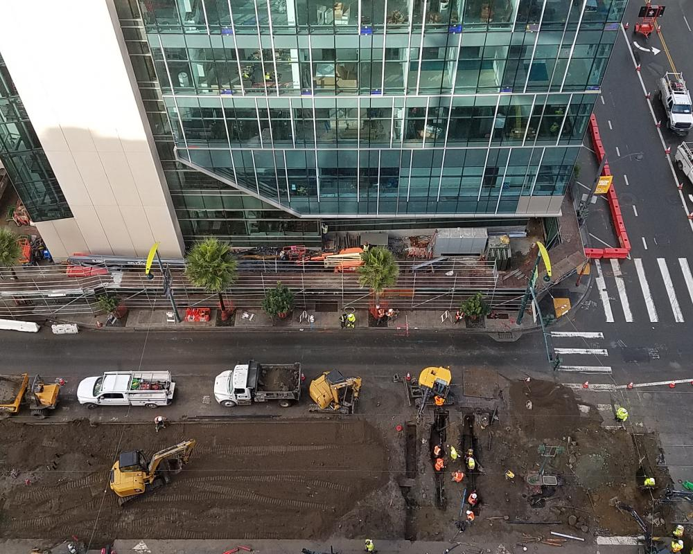 Photo Update: UCSF Mission Bay Platform Project | SFMTA