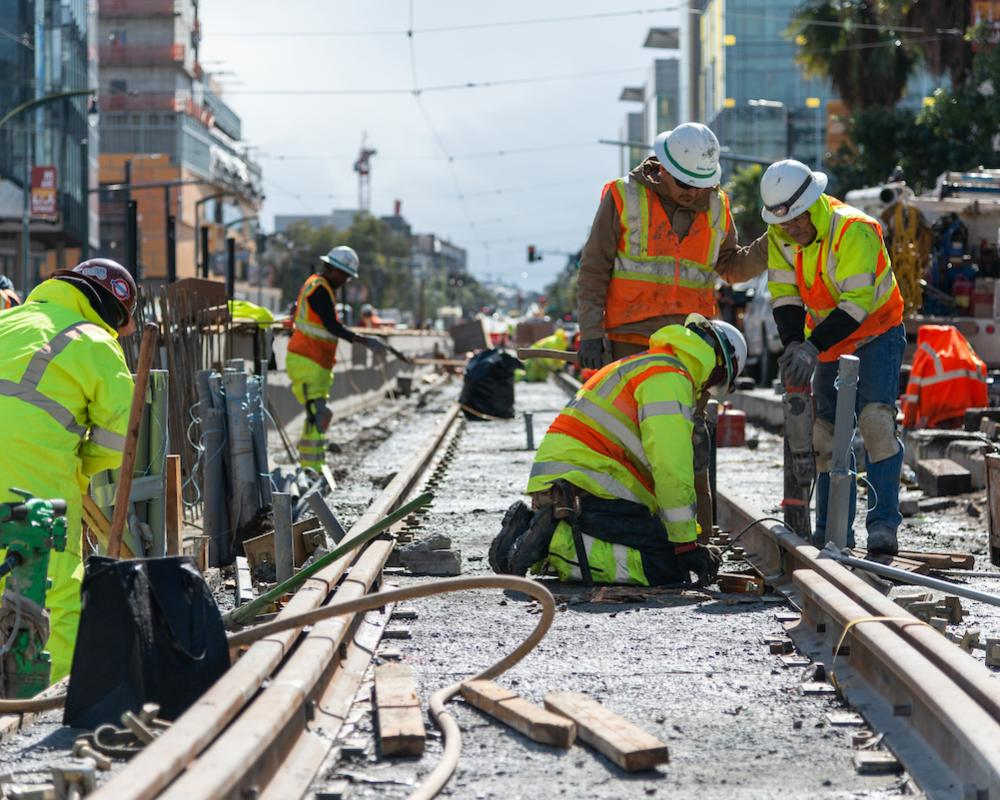 Work on UCSF Mission Bay Platform Upgrade Project