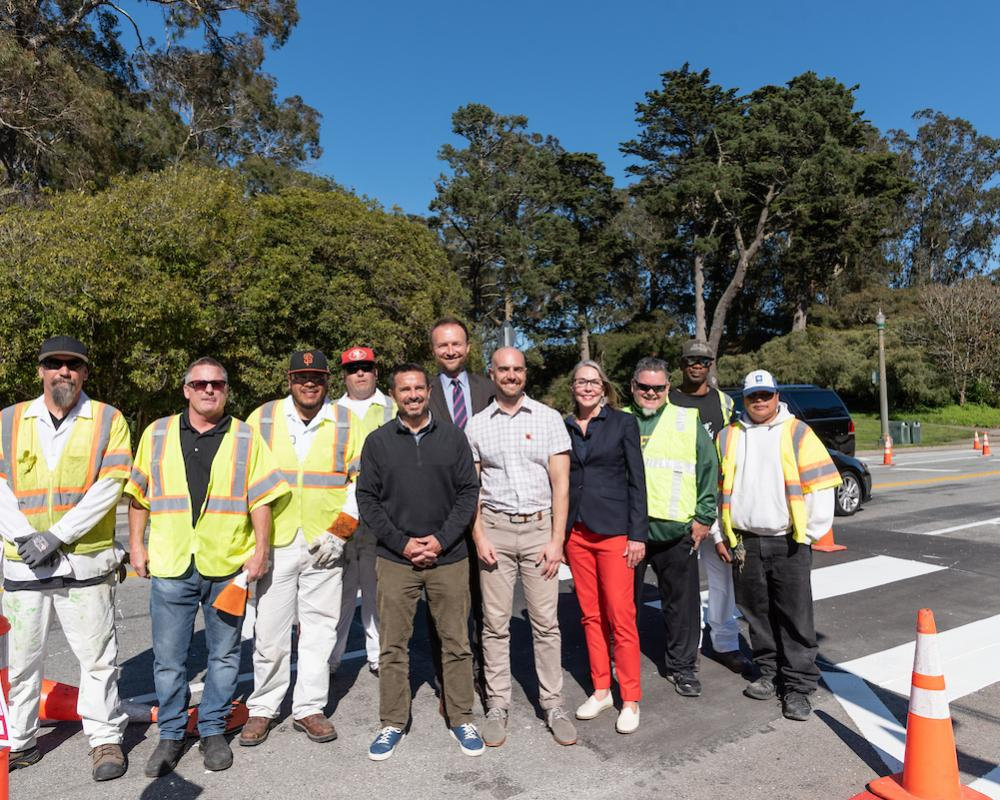 Golden Gate Park Traffic Safety Project