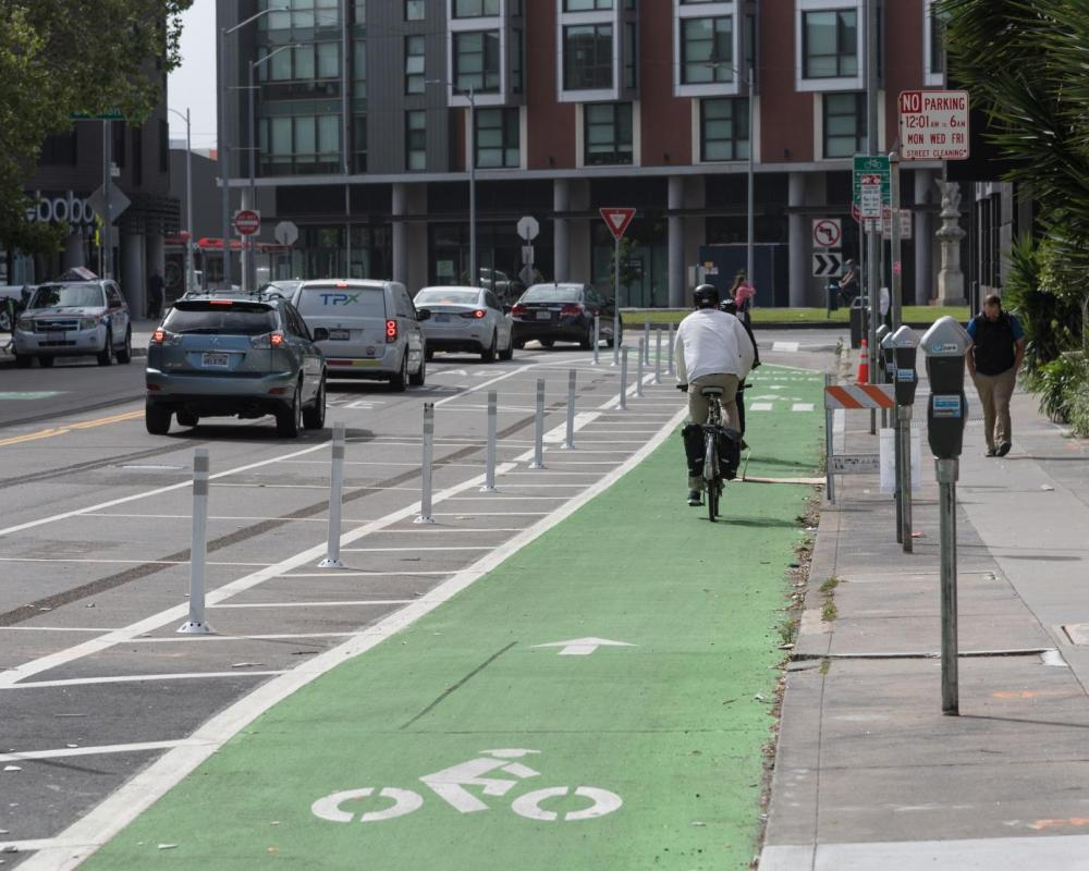 8th Street Protected Bikeway