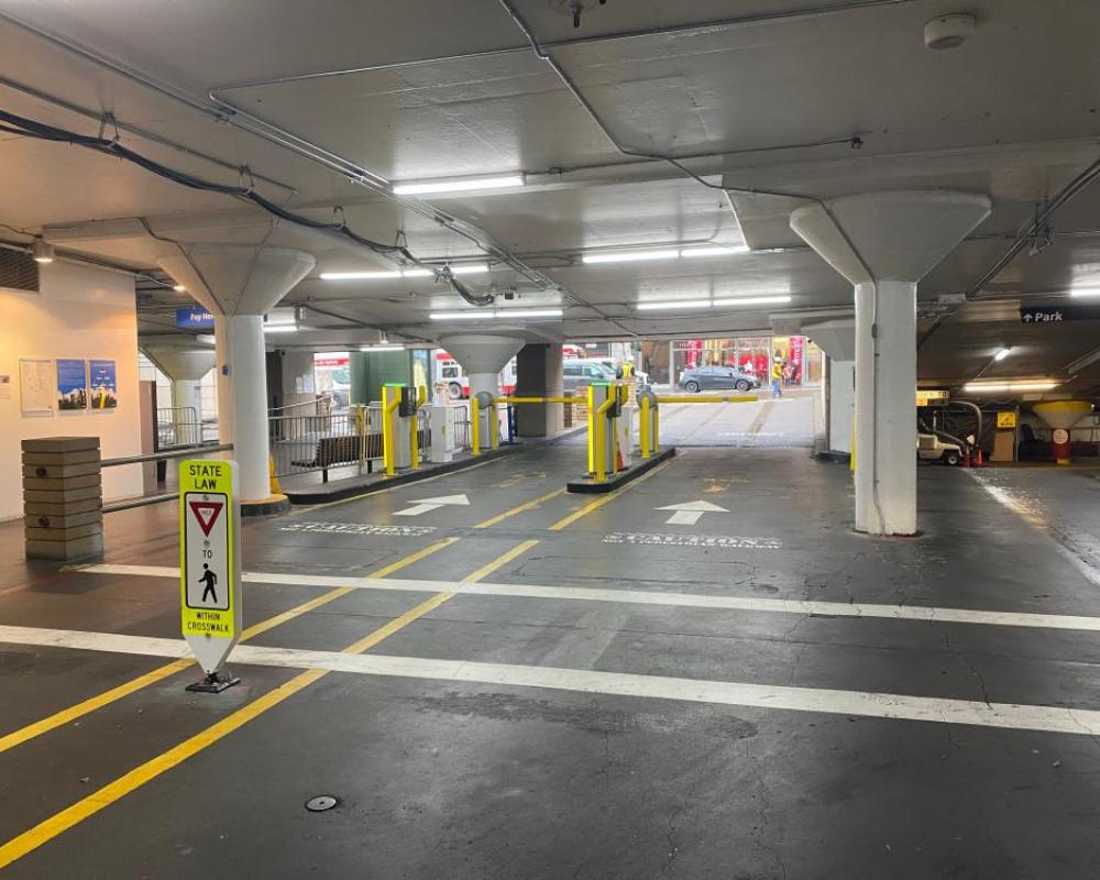 Union Square - Completed - Geary Street Exit