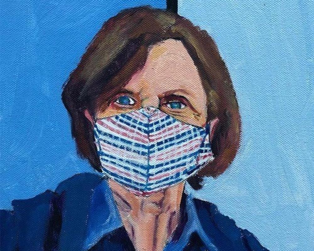 Painting of Barbara Ockel