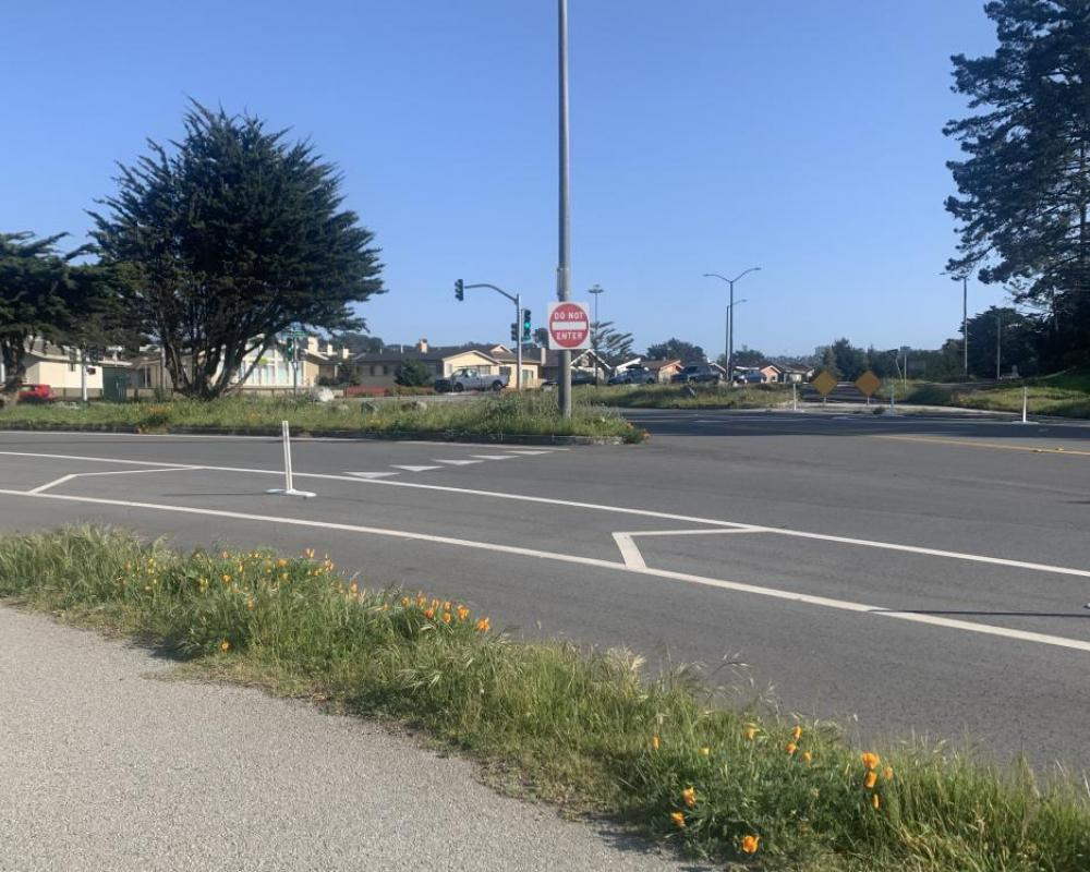 Lake Merced Boulevard and John Muir Drive (existing conditions)