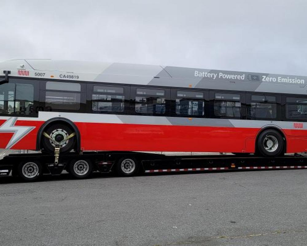 First new Proterra battery-electric bus